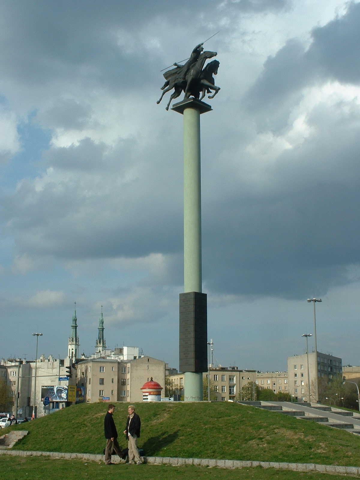 Galeria - pomniki Wars...